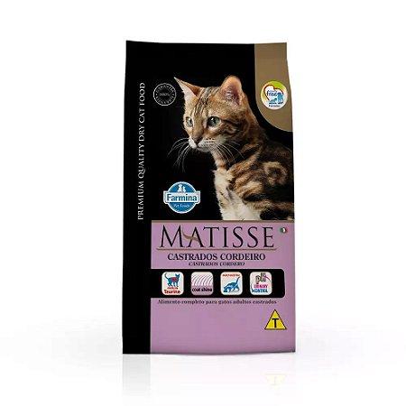 Ração Matisse para Gatos Castrados Cordeiro