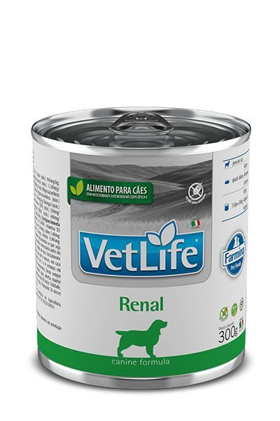 Ração Úmida para Cães Vet Life Renal Lata 300g
