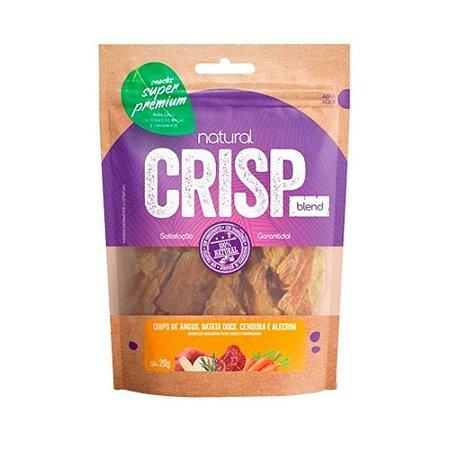 Natural Crisp Blend para Cães sabor Chips de Angus, Batata Doce, Cenoura e Alecrim 20g