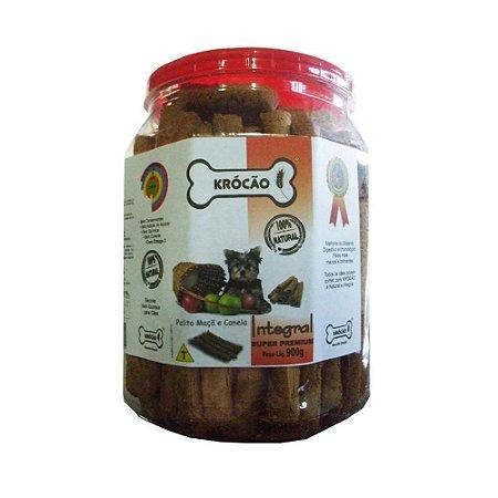 Krocão Biscoito Integral Palito sabor Maçã e Canela 900g