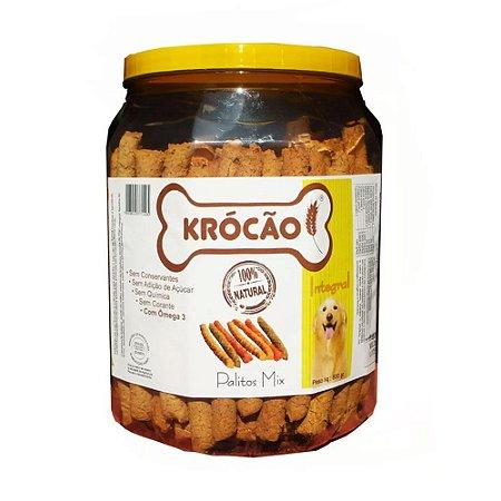 Krocão Biscoito Integral Palito Mix 1kg
