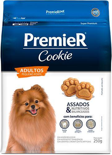 Biscoito para Cães Adultos Premier Cookie Pequeno Porte 250g