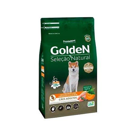 Golden Seleção Natural para Cães Adultos sabor Frango com Abobora e Alecrim 3kg