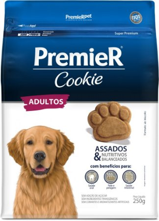 Biscoito para Cães Adultos Premier Cookie 250g