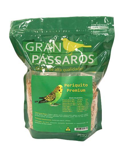 Gran Pássaros Periquito Premium 500g