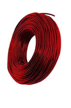 Cabos fotovoltaicos 6mm (vermelho) - por metro