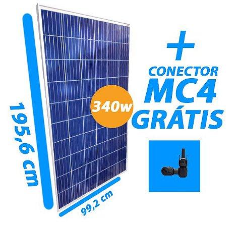Placa Solar 340W - Osda- Com conector MC4