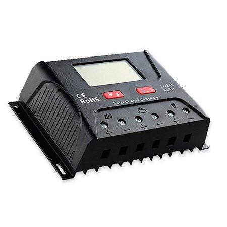 CONTROLADOR CARGA 30A - PWM (LCD) - HP2430 - SRNE