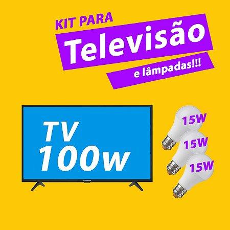 300Wp - Para Televisão e lâmpadas - 110V