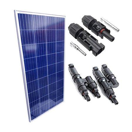 Módulo Fotovoltaico 150w com MC4 Y