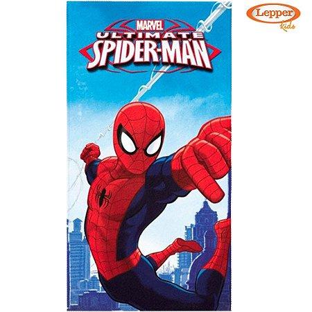 Toalha de Banho Aveludada Spider-Man Ultimate - Lepper
