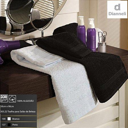 Toalha para Salão de Beleza Cabeleireiro e Manicure 90X50cm - Dianneli