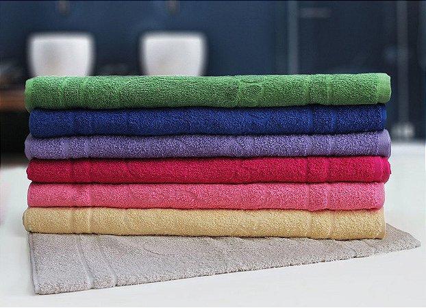 Tapete Piso para Banheiro Atoalhado Pegadas Cores Sortidas - Camesa