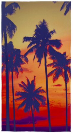 942eea78f Toalha de Banho para Praia Aveludada Transfer 0