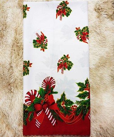 Toalha de Mesa Oxford Natal D Quadrada 1,40x1,40m - Tardivel