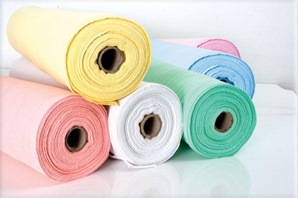 Rolo de Tecido Branco e Colorido 100% Algodão 25m x 68cm - Kelly