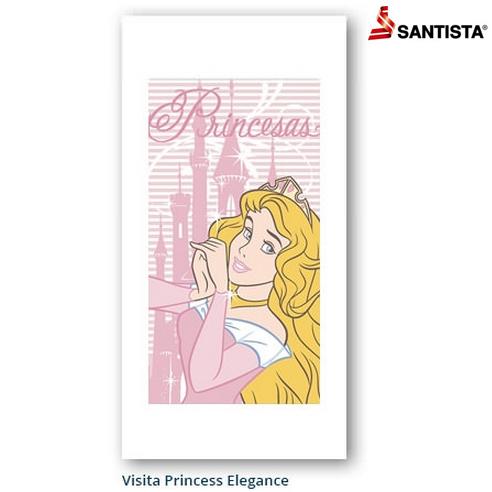 Toalha de Visita Social Santista Linha Disney Princess Elegance 22x41cm