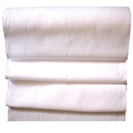 Rolo de Tecido Branco Engomatextil 100% Algodão 25m x 0,68m