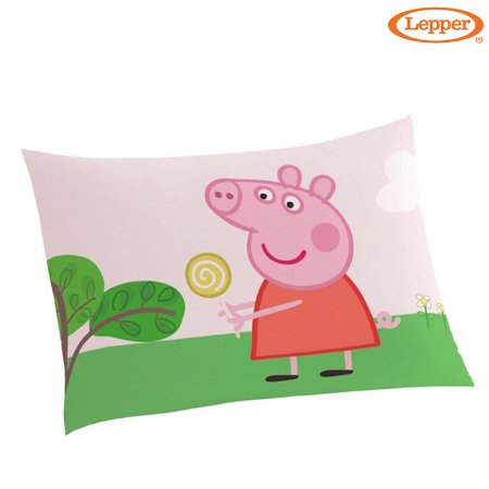 Fronha Avulsa Estampada Peppa Pig - Lepper