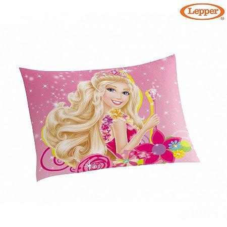 Fronha Avulsa Estampada Barbie e o Portal Secreto - Lepper