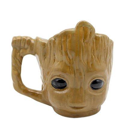 Caneca 3d Baby Groot Guardiões da Galáxia