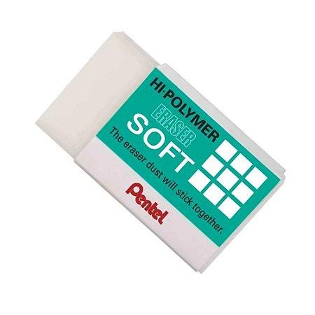 Borracha Pentel Hi-Polymer Eraser Soft ZES-08