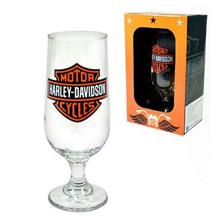 Taça de vidro 300 ml - Harley Davidson