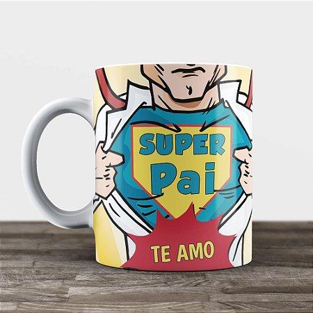 Caneca Personalizada - Super Pai