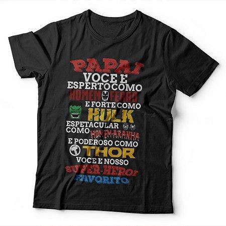 Camiseta Herói Favorito