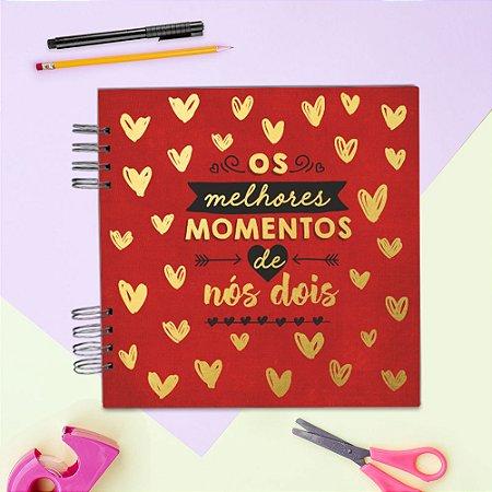 ÁLBUM DE RECORDAÇÕES SCRAPBOOK - OS MELHORES MOMENTOS