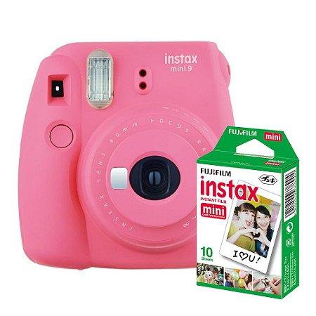 Câmera Instantânea Instax Mini 9 + Pack 10 filmes