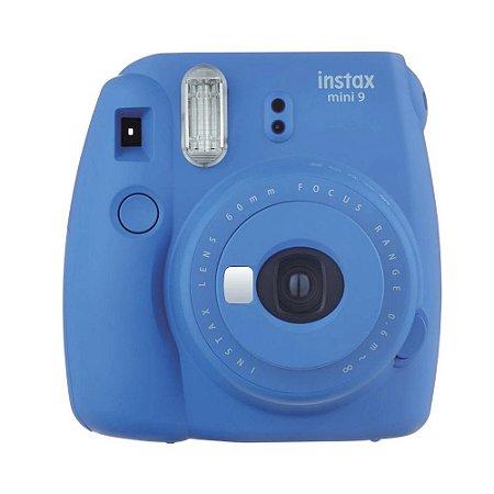 Câmera Instantânea Instax Mini 9 Azul Cobalto