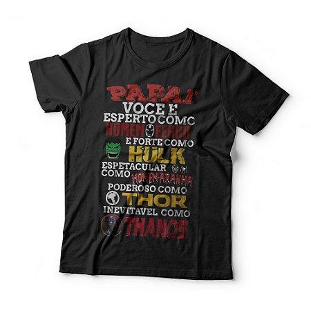 Camiseta Herói Favorito - Thanos