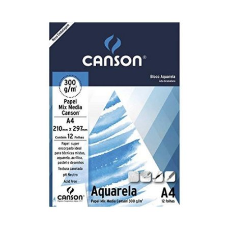 PAPEL MIX MEDIA CANSON 300 G/M