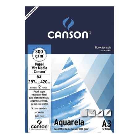 PAPEL MIX MEDIA CANSON A3 300 M/G