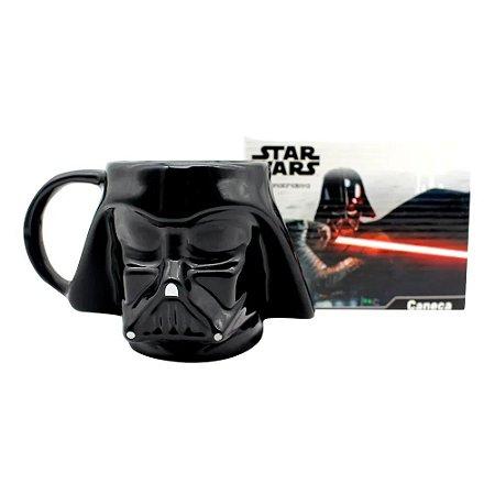 Caneca Darth Vader Formato 3d