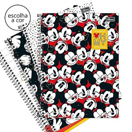 Caderno Espiral Capa Dura Universitário 1 Matéria Mickey Tilibra
