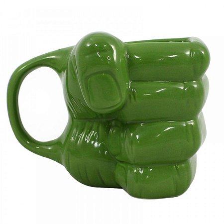 Caneca Mão do Hulk Formato 3D