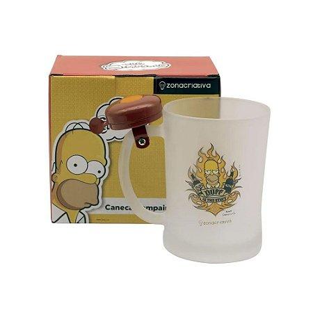 Caneca de Chopp Homer Simpson com Campainha