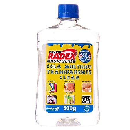 COLA MULTIUSO TRANSPARENTE CLEAR SLIME