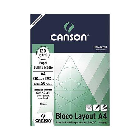 CANSON PAPEL SULFITE MÉDIO 120 GM2