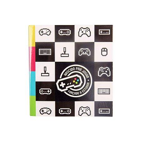 Bloco de Notas Sticker Game Geek