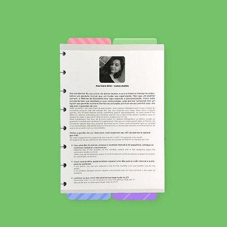 Planner Estudante By Anas Studies Caderno Inteligente