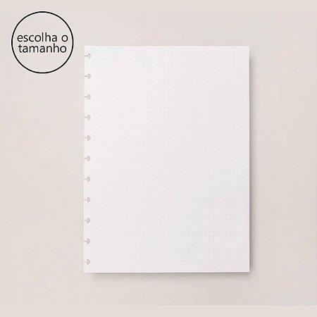 Refil Caderno Inteligente Pontilhado