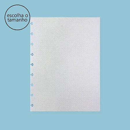 Refil Caderno Inteligente Linhas Brancas Pontilhado