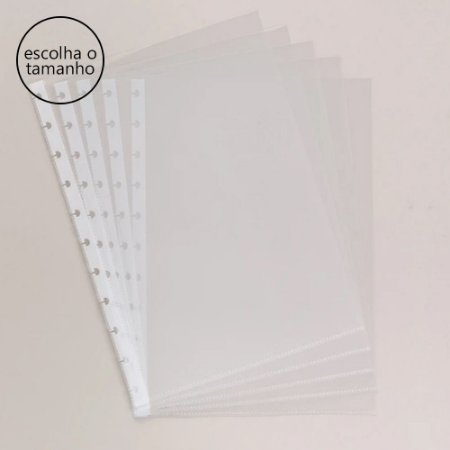 Bolsa Plástica Caderno Inteligente