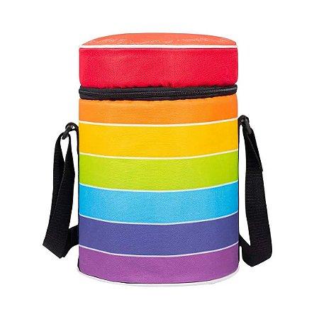 Cooler Com Alça Cores Colorir Uatt