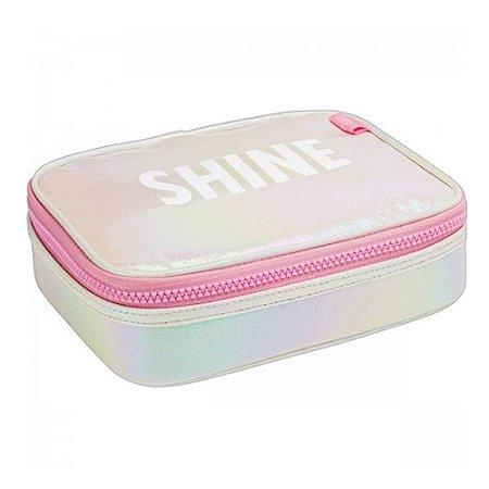 Estojo Box Shine Tilibra