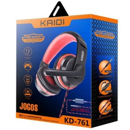 HEADSET GAMER KAIDI KD-761