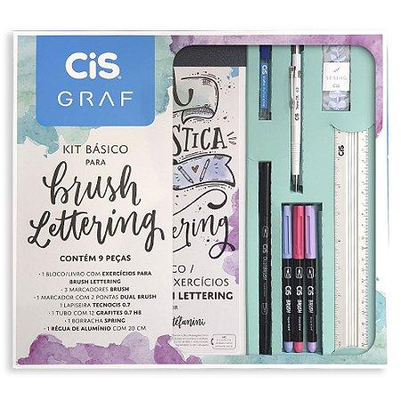 Kit Básico Para Brush Lettering Cis 9 Peças